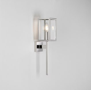 Coach Outdoor Wall Light 8191 Polished Nickel