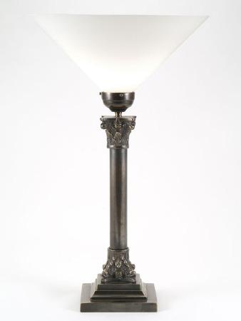Column Uplight Table Lamp