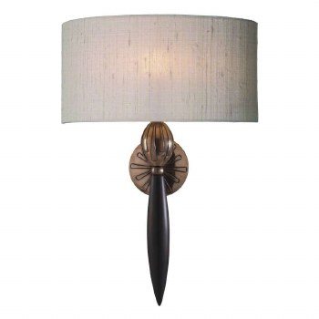 David Hunt CON0799 Contour Wall Light Silk Shade