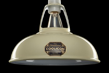 Coolicon Large 1933 Design Light Shade 40cm Cream