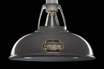 Coolicon Original 1933 Design Light Shade 23cm Grey