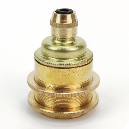 Cordgrip Lampholder ES Polished Brass