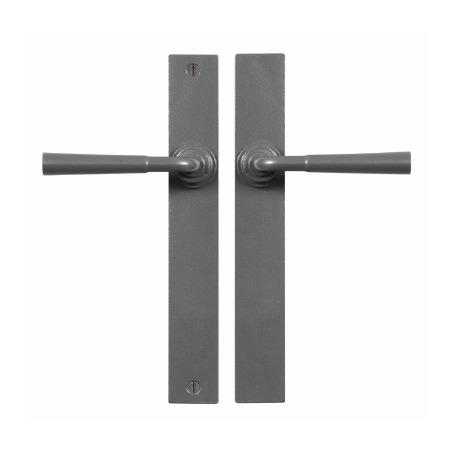 Stonebridge Cotswold Multipoint Passage Door Handles Armor Coat Satin Steel