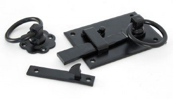 From The Anvil Cottage Rim Latch RH Black