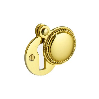 Regency 934 Covered Escutcheon Polished Brass Unloacquered