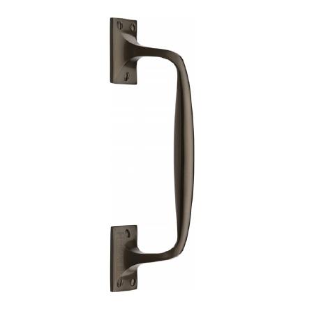 Heritage Cranked Pull Handle V1150 253 Matt Bronze