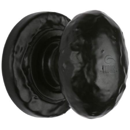 Heritage Tudor Cupboard Knob TC534 32mm Black Ironwork