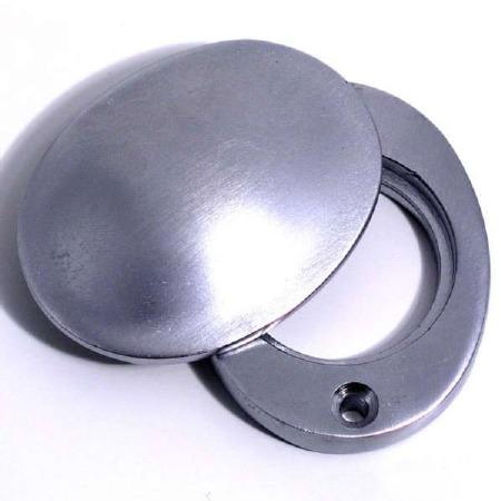 Aston Cylinder Cover Satin Chrome
