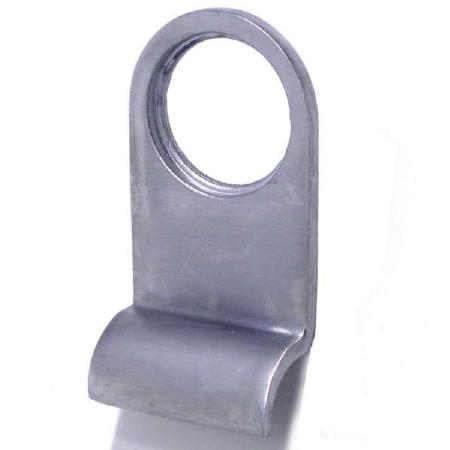 Aston Cylinder Door Pull Satin Chrome