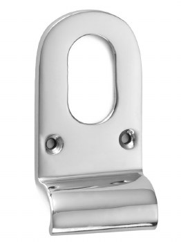 Croft Cylinder Pull 1773 Oval Profile Polished Chrome