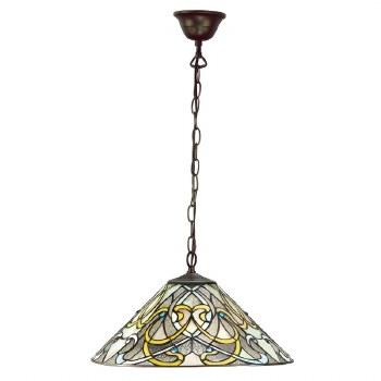 Interiors 1900 Dauphine Tiffany Ceiling Pendant Light