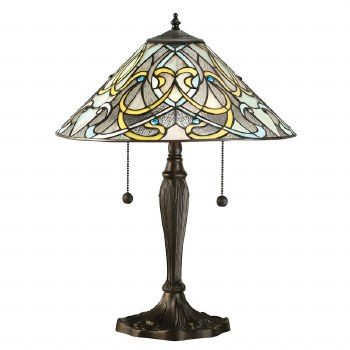 Interiors 1900 Dauphine Tiffany Table Lamp