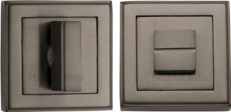 Heritage DEC7030 Bathroom Thumb Turn & Release Matt Bronze Lacquered