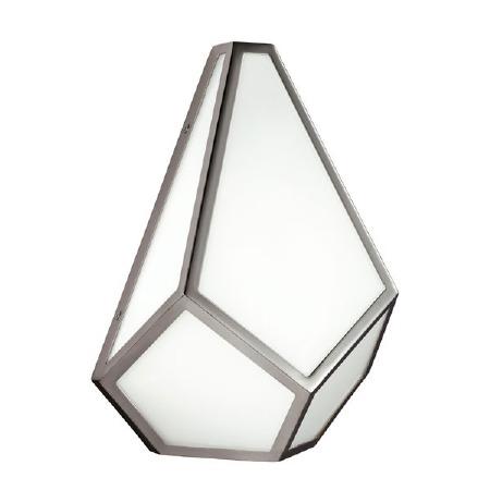 Feiss Diamond Wall Light Polished Nickel