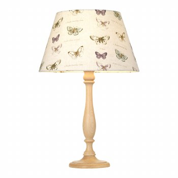 Elstead Painswick Table Lamp Large Limed with Shade