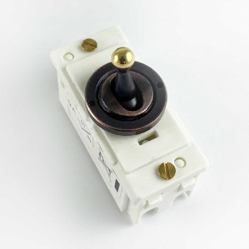 Replacement Dolly Switch Relieved Bronze