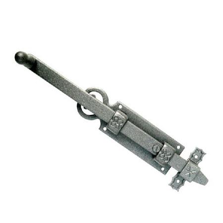 Como Long Reach Door Bolt 250mm Antique Grey