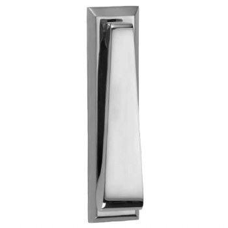 Croft Slim Door Knocker 1750 Polished Chrome