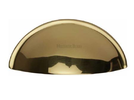 Heritage Drawer Pull C2760 Polished Brass
