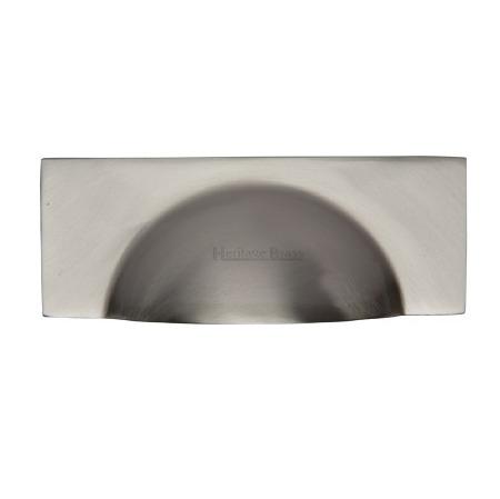 Heritage Drawer Pull C2764 Satin Nickel