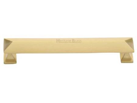 Heritage Cabinet Pull C2231 152mm Satin Brass