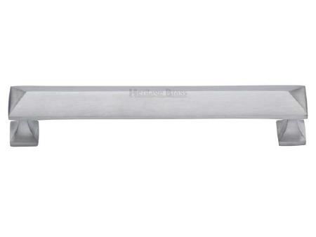 Heritage Cabinet Pull C2231 152mm Satin Chrome