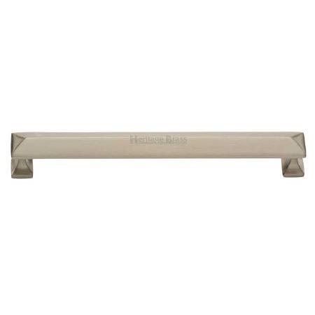 Heritage Cabinet Pull C2231 203mm Satin Nickel