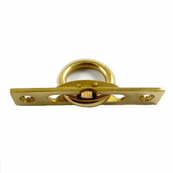 Drop-Ring Polished Brass Unlacquered