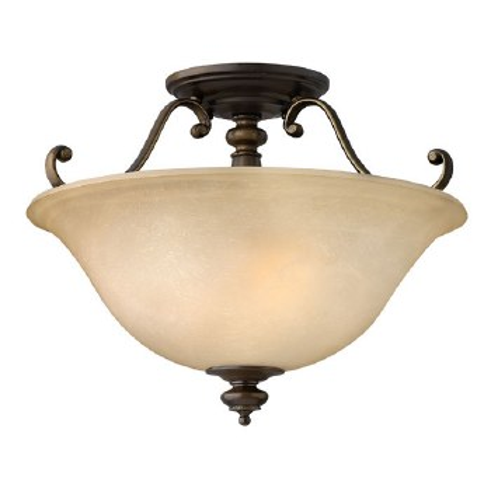 Hinkley Dunhill Semi Flush Light Royal Bronze