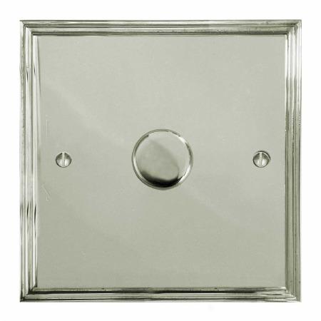 Edwardian Dimmer Switch 1 Gang Polished Nickel