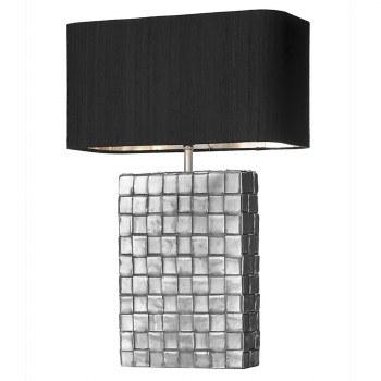 David Hunt ELE4367 Element Table Lamp Base Pewter