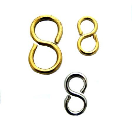 """Brass """"S"""" Hook 1.1/2"""""""