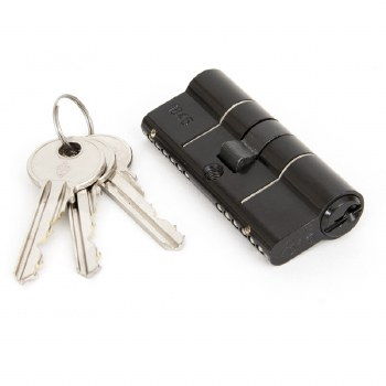 From The Anvil Euro Lock Cylinder 35/35 Black Keyed Alike