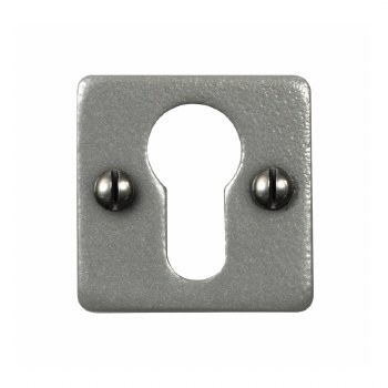 Stonebridge Euro Square Escutcheon Armor Coat Satin Steel