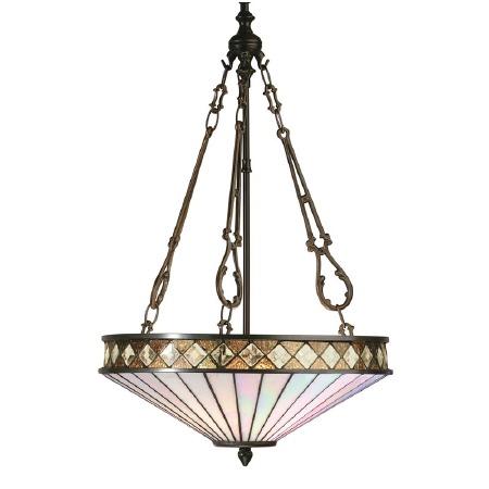 Interiors 1900 Fargo Tiffany Ceiling Light Pendant