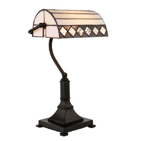 Interiors 1900 Fargo Tiffany Bankers Lamp