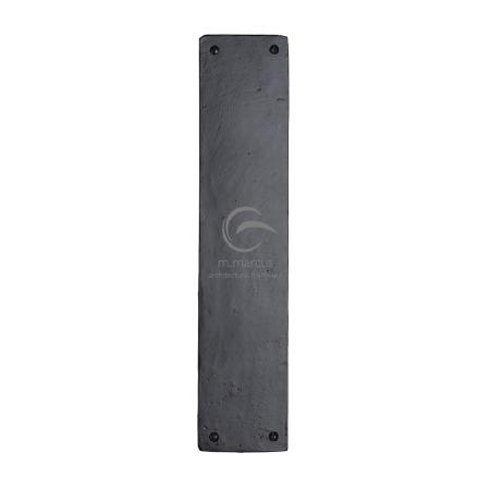 Heritage Finger Plate FB431 Black Iron Rustic