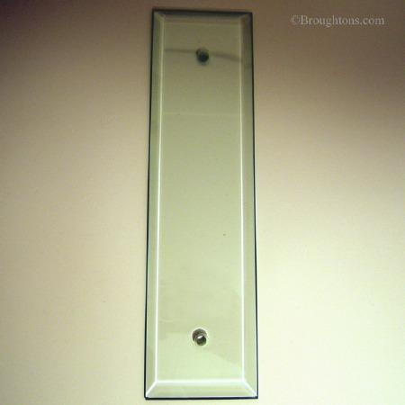 Glass Finger Plate