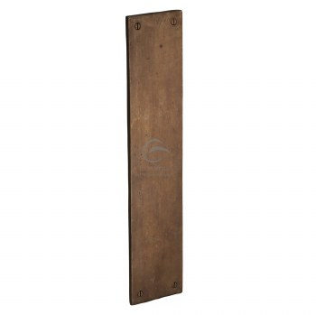 Heritage Finger Plate RBL431 Solid Rustic Bronze