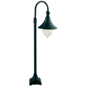 Elstead Firenze Pillar Light Black