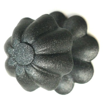 Como Flower Cupboard Door Knob with Rose