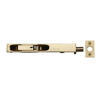 """Heritage Flush Bolt C1680 6"""" Polished Brass"""