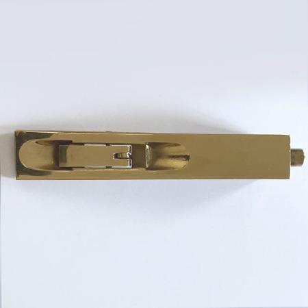 Aston Flush Door Bolt 152 x 25mm Polished Brass Unlacquered