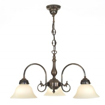 Frisby 3 Arm Chandelier