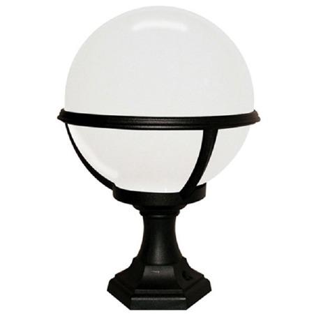 Elstead Glenbeigh Pedestal or Porch Lamp Black