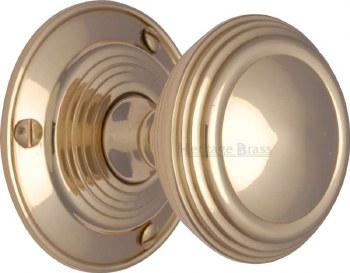Heritage Goodrich Knobs GOO986 Polished Brass