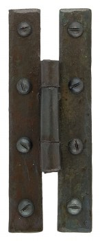 """From The Anvil H Hinges 3"""" Beeswax"""