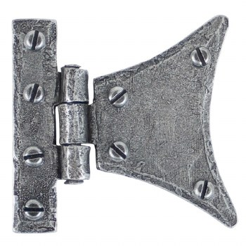"From The Anvil Half Butterfly Hinge 3"" Pewter"