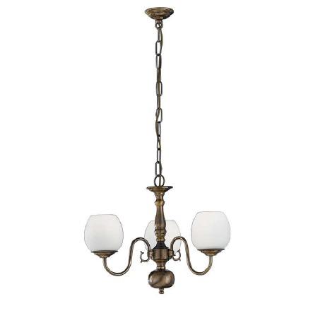 Halli Chandelier Light 3 Lights Bronze