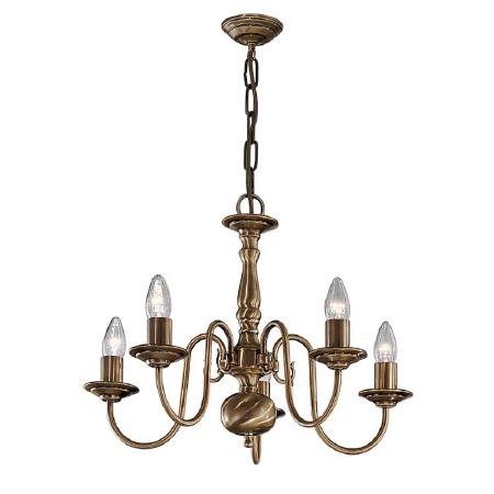 Halli Chandelier Light 5 Lights Bronze